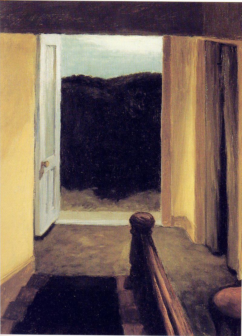 Edward Hopper Word And Silence
