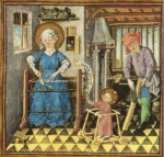 Anonymous - Holy Family at Work