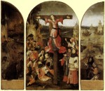 Hieronymus Bosch - Crucified Martyr