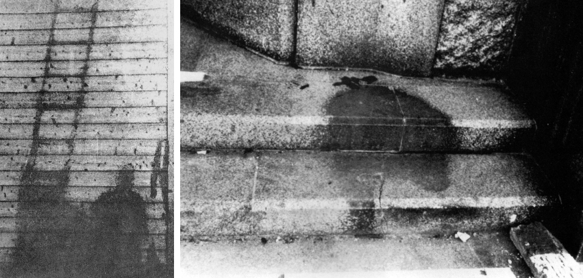 Shadows Burned into the Streets & Buildings of Hiroshima
