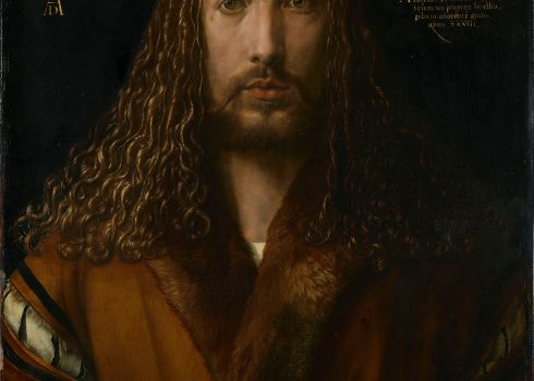"Albrecht Dürer, ""Self-Portrait"" (1500)"