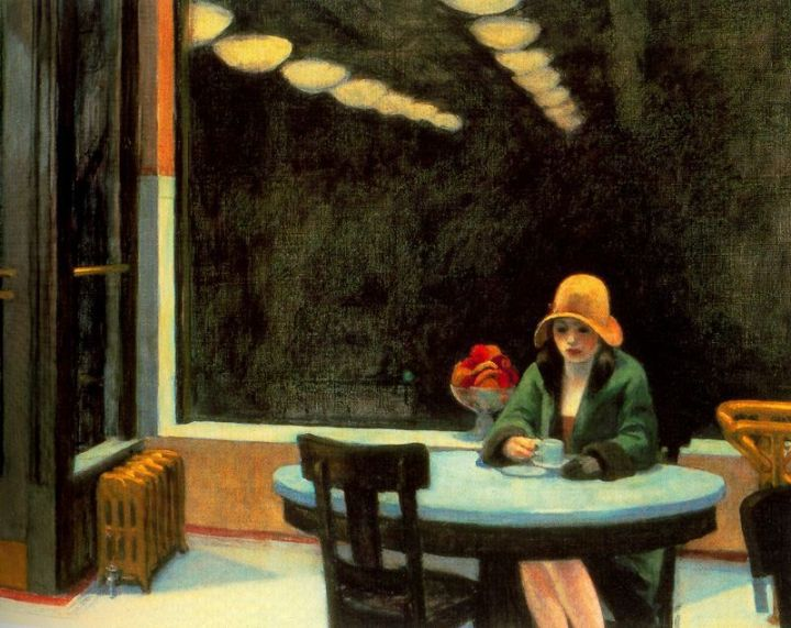 "Edward Hopper, ""Automat"" (1927)"