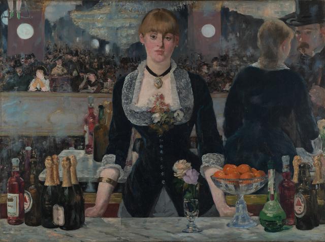 Édouard Manet - A Bar at the Folies-Bergère