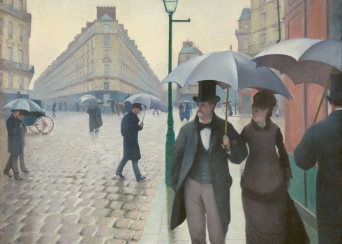 Gustave Caillebotte - Paris Street, Rainy Day (1884)