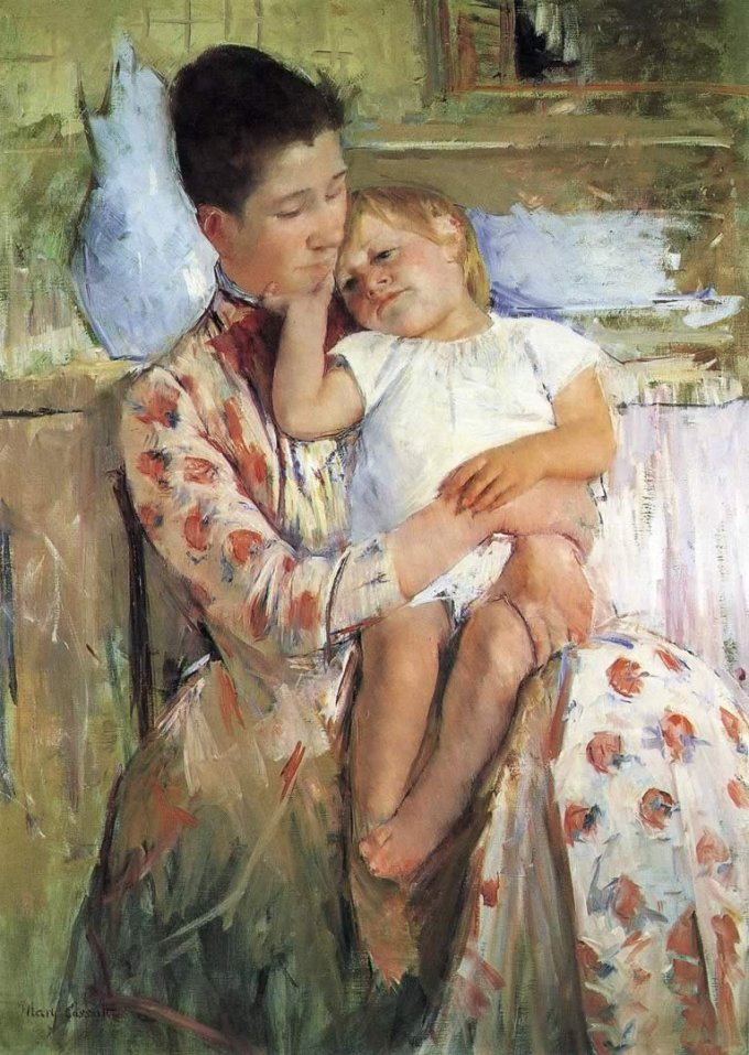 Mary Cassatt - Emmie and Her Child - 1889