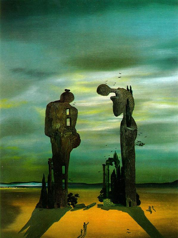 Salvador Dali - Archeological Reminiscence of Millet's Angelus (1935)