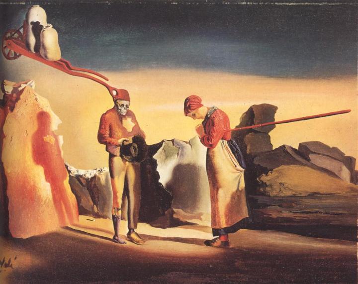 Salvador Dali - Atavism of Twilight (1933-1934)