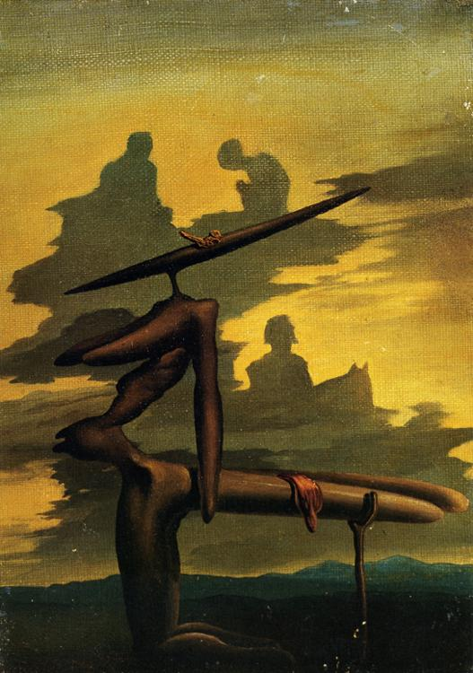 Salvador Dali - The Spectre of the Angelus (1934)