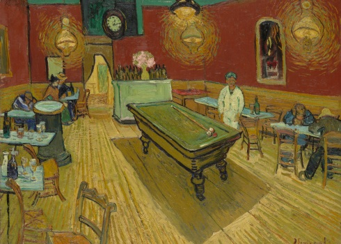 "Vincent van Gogh, ""The Night Café in the Place Lamartine in Arles"" (1888)"