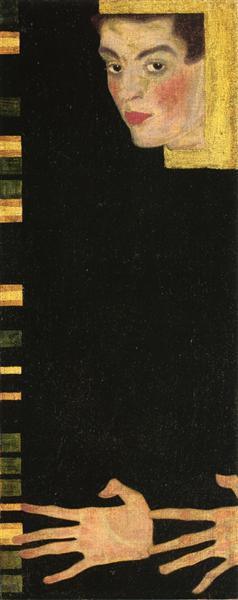 Egon Schiele - Self Portrait (1909)