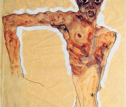 Egon Schiele - Self Portrait (1911)