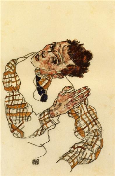 Egon Schiele - Self Portrait (1917)