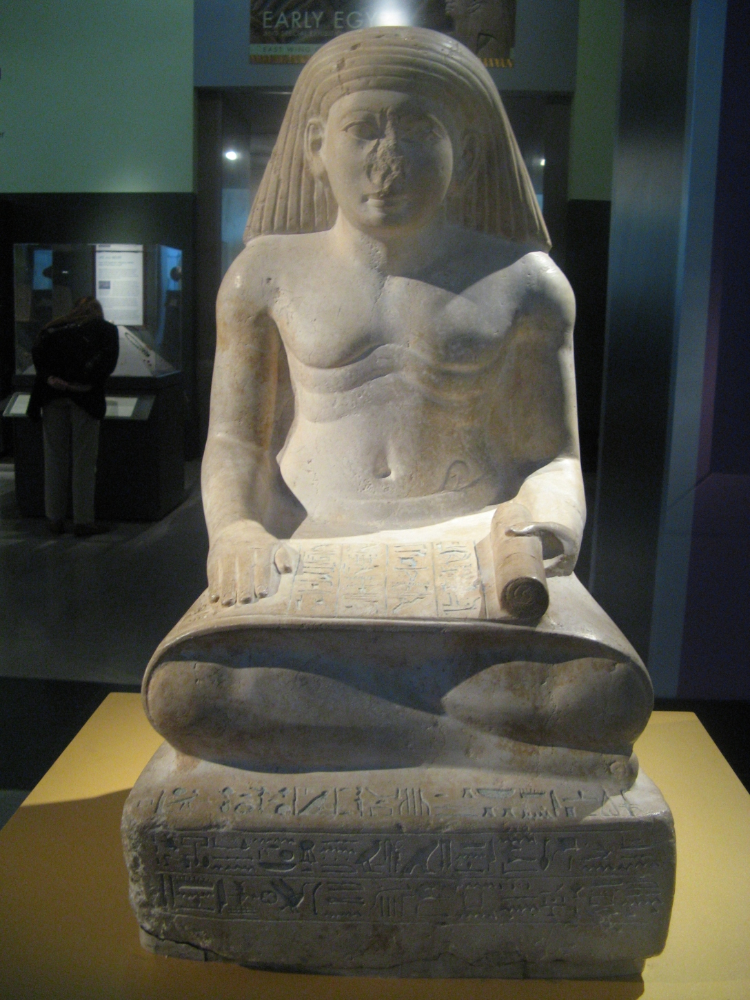 Scribe Statue of Amunhotep, Son of Nebiry (c. 1426-1400 BC)