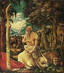 Albrecht Altdorfer - Penitent St. Jerome - 1507