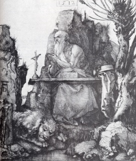 Albrecht Durer - St. Jerome by the Pollard Willow - 1512