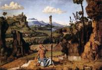 Cima da Conegliano - St. Jerome in the Wilderness - c. 1495
