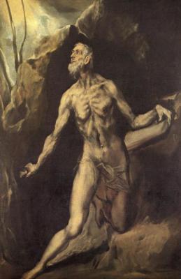 El Greco - St. Jerome - c. 1610
