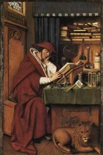 Jan van Eyck - St. Jerome in His Study - 1432