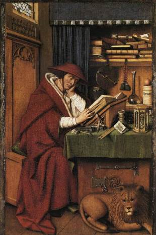 Jan van Eyck - St. Jerome in His Study - 1432