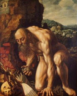 Jan van Hemessen - St. Jerome - 1543