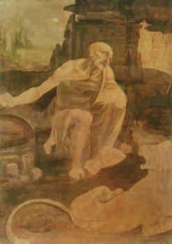 Leonardo da Vinci - St. Jerome - c. 1480