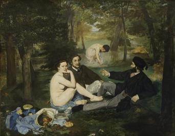 Manet - Le Déjeuner sur l'Herbe - 1862