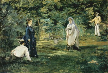 Manet - The Croquet Game - 1873