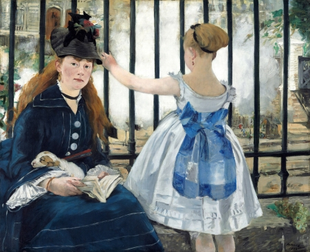 Manet - The Railway - 1873
