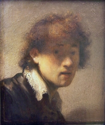 Rembrandt - Self-Portrait - 1629 (2)