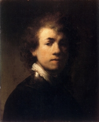 Rembrandt - Self-Portrait - 1629