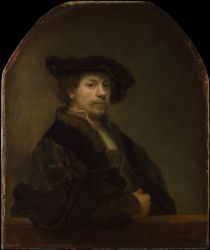 Rembrandt - Self-Portrait - 1640