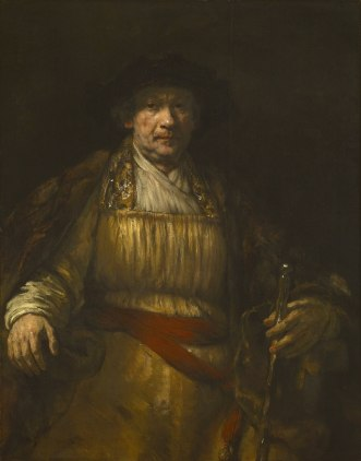 Rembrandt - Self-Portrait - 1658