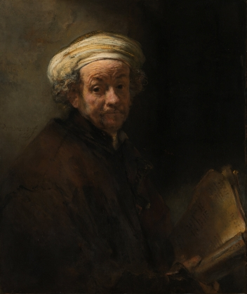 Rembrandt - Self-Portrait as Apostle Paul - 1661