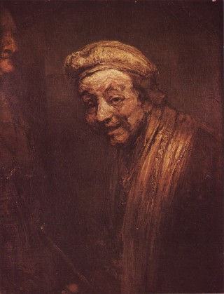 Rembrandt - Self-Portrait as Democritus - 1669