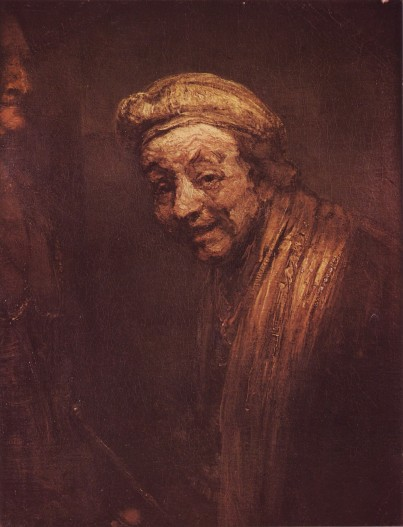 Rembrandt - Self-Portrait as Democritus - 1669