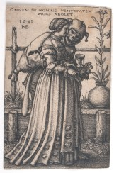 Beham - Lady and Death - 1542