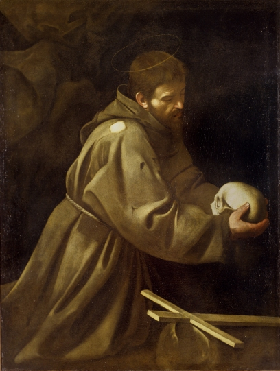Caravaggio - St. Francis in Prayer - 1604
