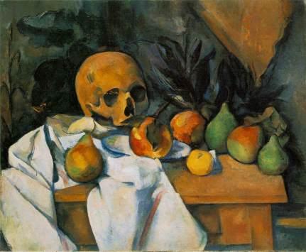 Cezanne - Still Life with Skull - 1898