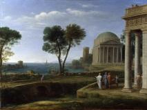Claude Lorrain - Landscape with Aeneas at Delos - 1672