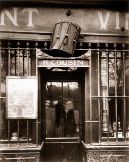 Eugène Atget - Au Tambour