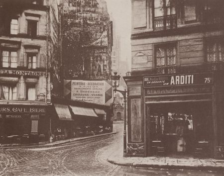 Eugène Atget - Rue de la Montagne - Sainte Geneviève