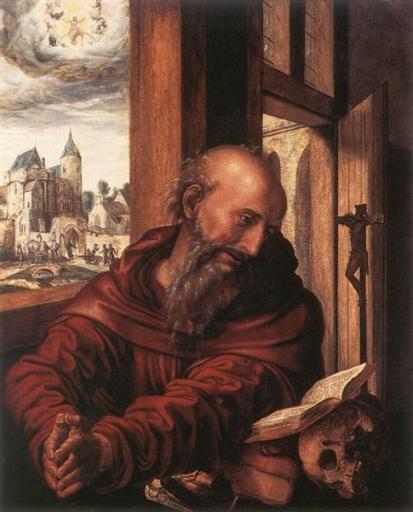 Jan van Hemessen - St. Jerome - c. 1500