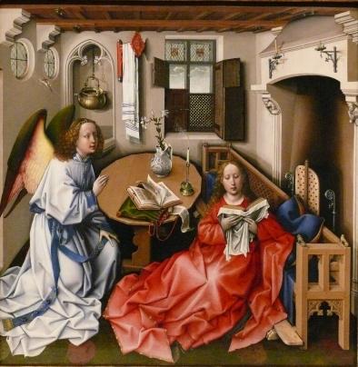 Merode Altarpiece - Central Panel