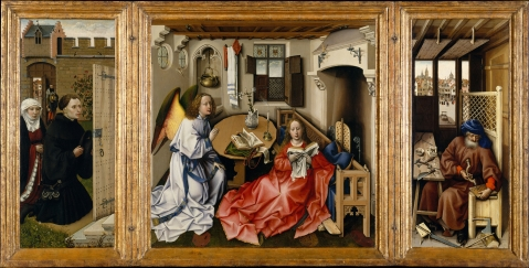Merode Altarpiece - Full