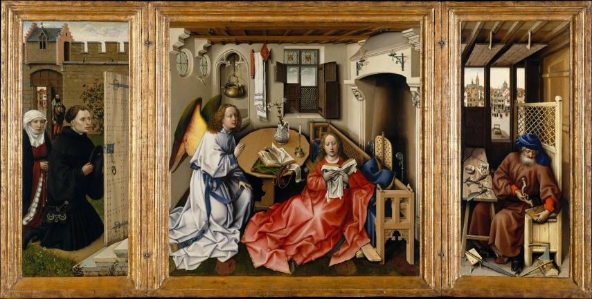 Merode Altarpiece - Full