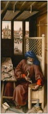 Merode Altarpiece - Right Panel