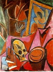 Picasso - Composition with Skull - 1908