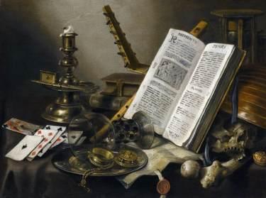Pieter Claesz - Vanitas Still Life - 1660
