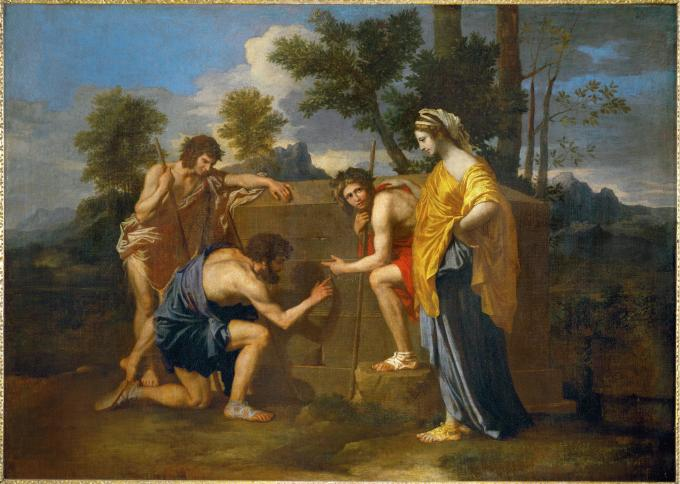 Poussin - Shepherds of Arcady (Et in Arcadia ego) - 1639