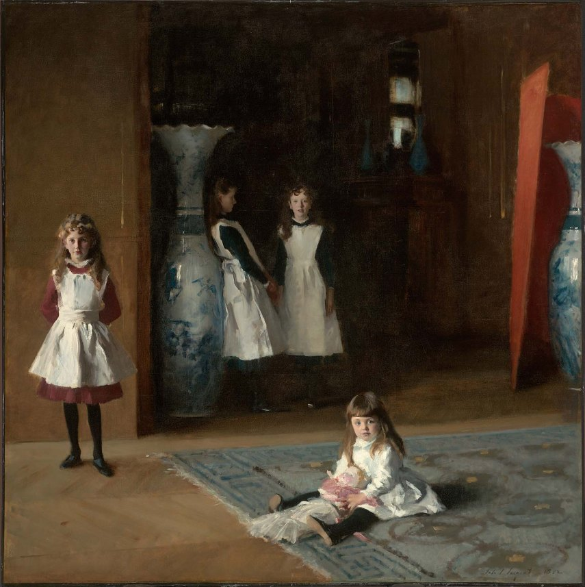 Sargent - The Daughters of Edward Darley Boit - 1882